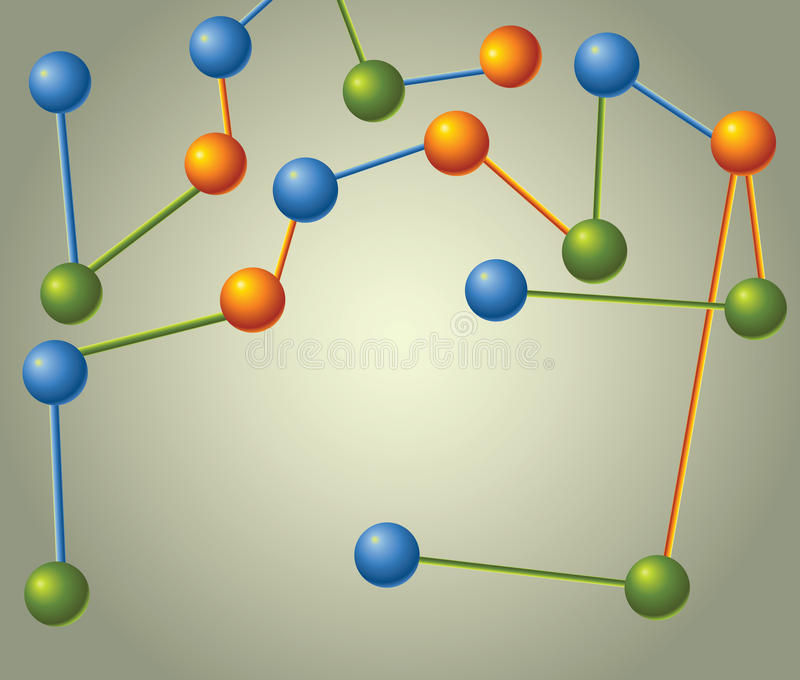 Download Molecule stock illustration. Image of icon, chemistry - 22662797
