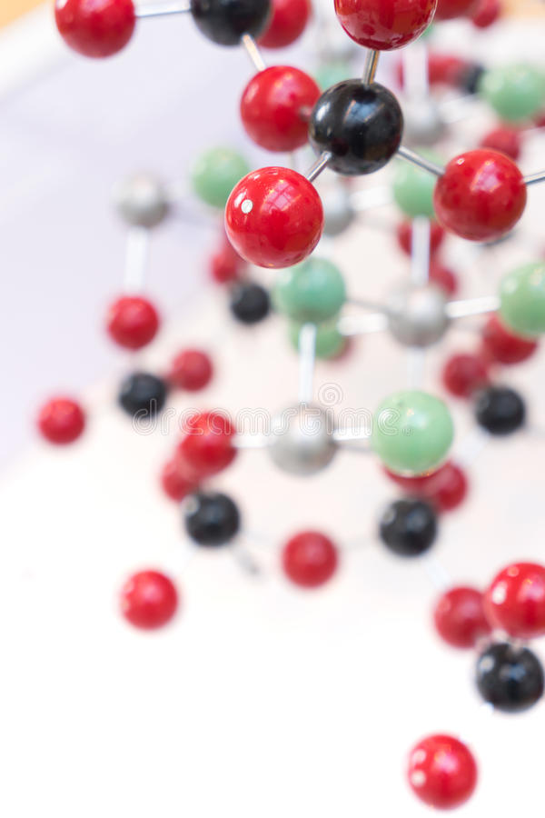 Molecule, DNA in de test van het laboratoriumlaboratorium, chemie royalty-vrije stock fotografie