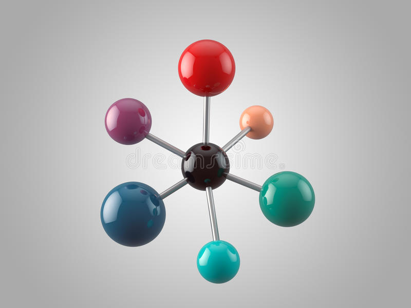 Molecule stock photography