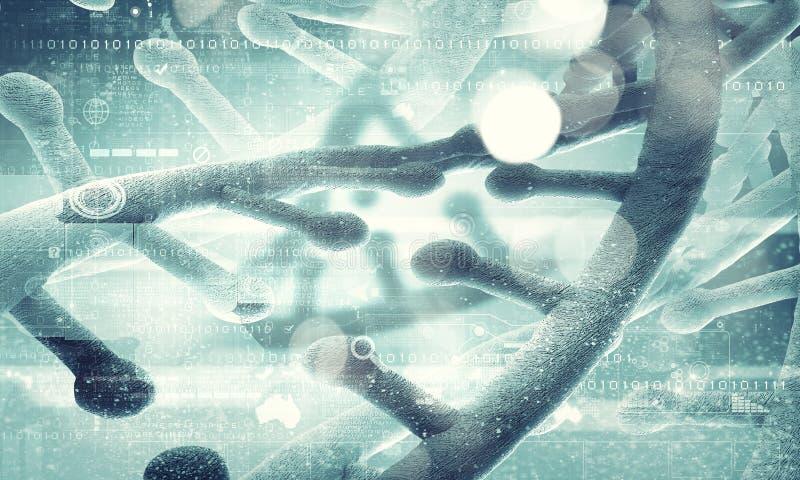 Molecule van DNA royalty-vrije stock afbeelding