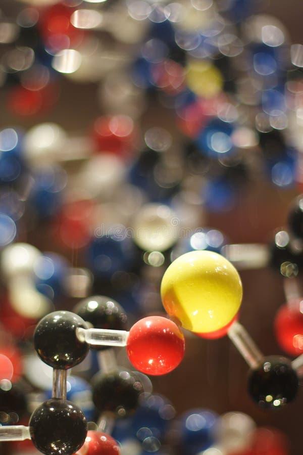 Molecules stock fotografie