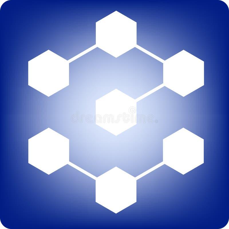 Molecules stock illustration