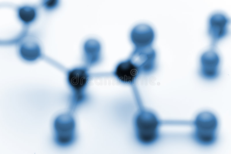 Molecules. Blury background of molecules. Blured with lens and not photoshop for a more natural bokeh
