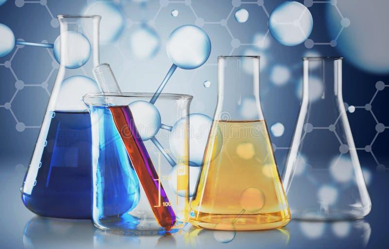 molekuła zdjęcie stock