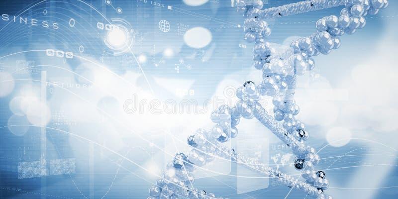 Molekuła DNA zdjęcie royalty free