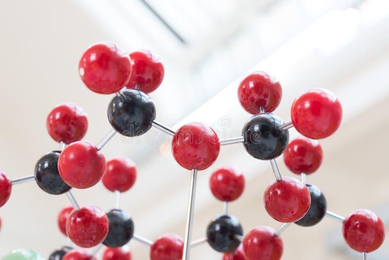 Molekuła, DNA w laboranckim lab tescie, chemia zdjęcia stock