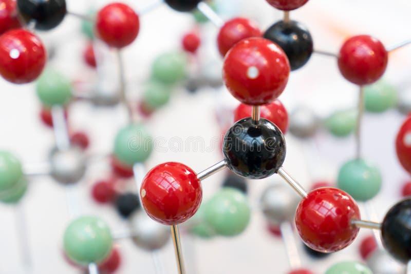 Molekuła, DNA w laboranckim lab tescie, chemia obraz royalty free