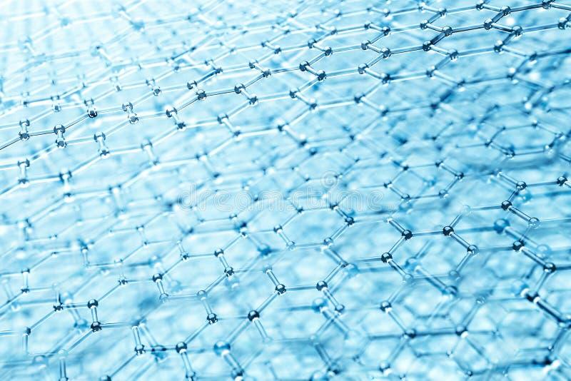 Molekulare Struktur lizenzfreie abbildung