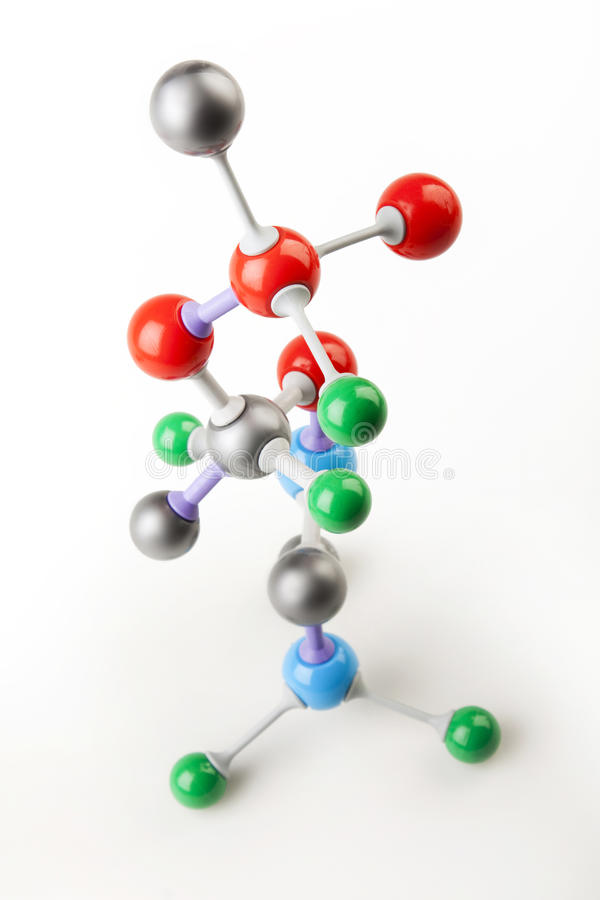 molekylär struktur arkivbilder