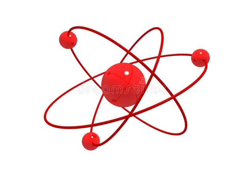 molekylärt stock illustrationer