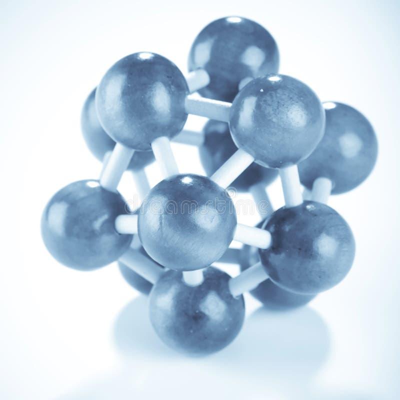 molekylärt trä för bakgrund arkivbilder
