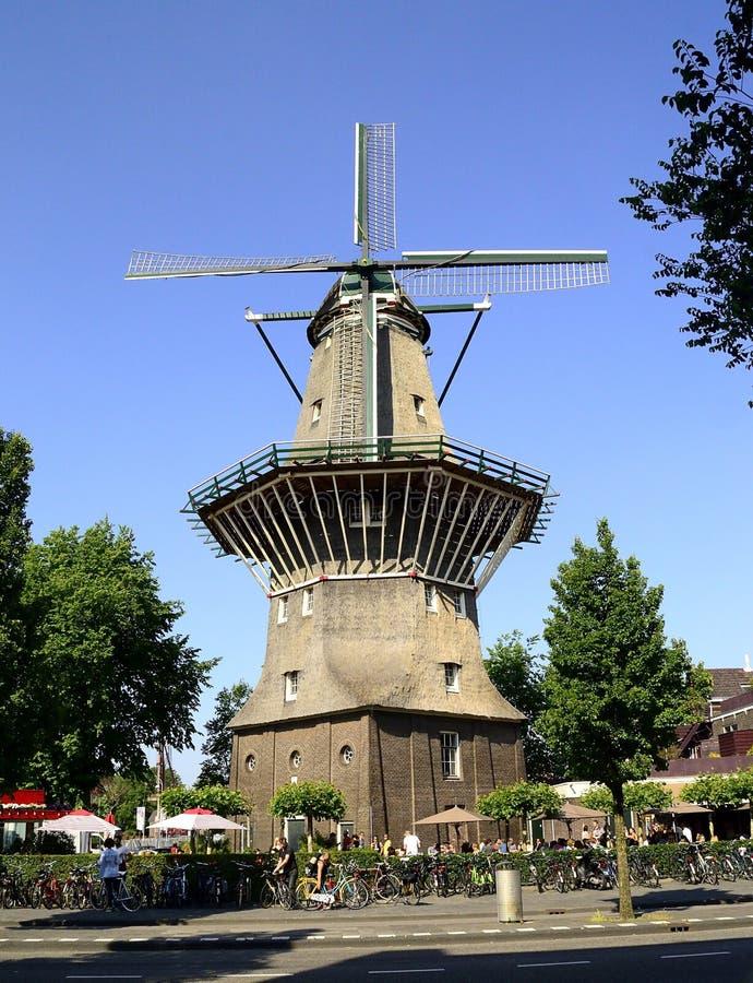 Molen, Holland, Amsterdam stock afbeelding