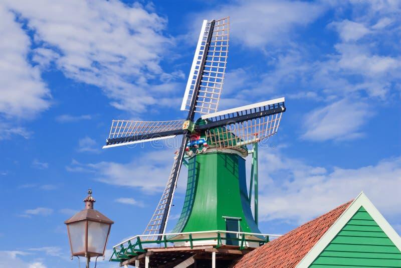 Molens in Holland stock afbeelding