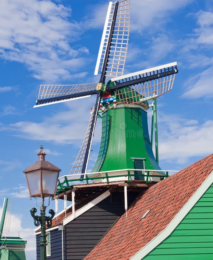 Molens in Holland stock fotografie