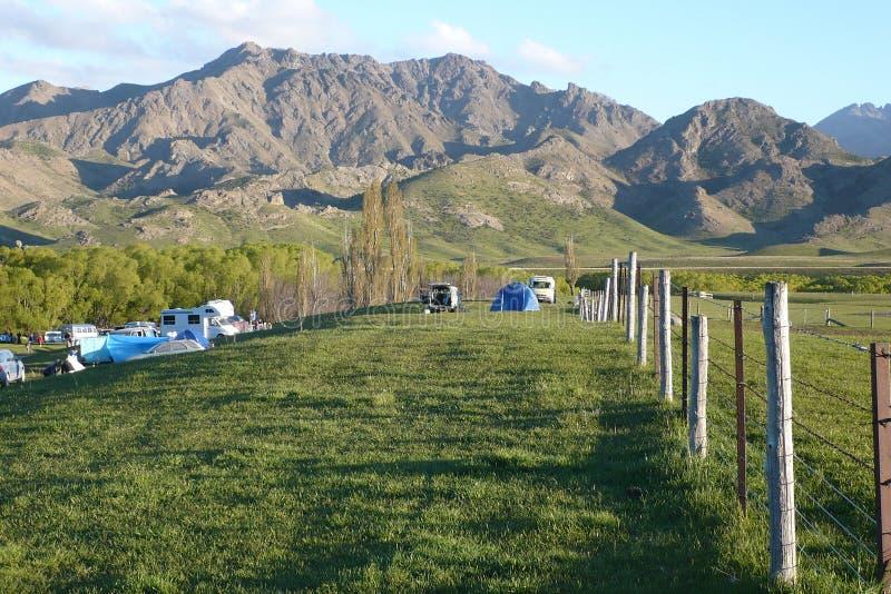 Molesworth Tal, malerisches Neuseeland stockbild
