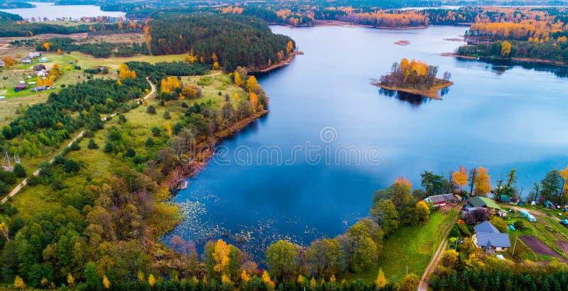 Moletai jeziora zdjęcie stock