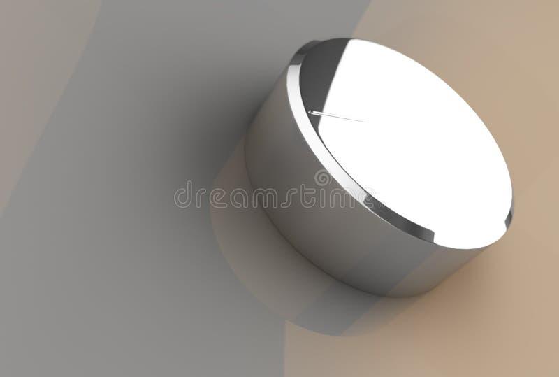Molette d'ampère lustrée illustration de vecteur