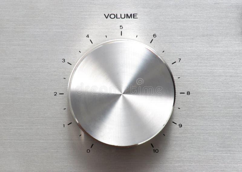 Download Molette de volume image stock. Image du contrôle, phonographe - 89263