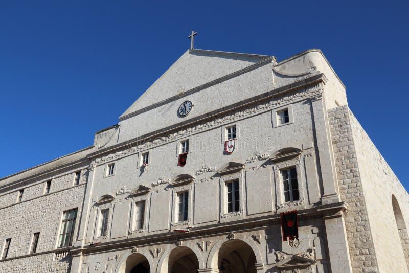 Molfetta, Italy. Local religious landmark. Church of Saint Dominic (San Domenico royalty free stock image