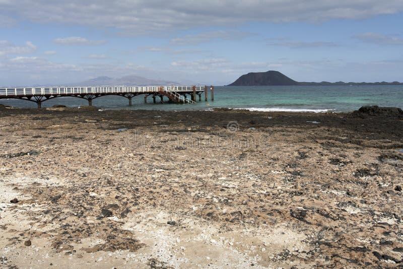Molhe ao oceano fotos de stock