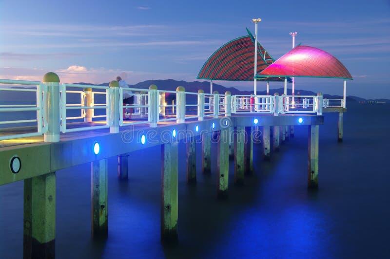 Molhe da costa de Townsville