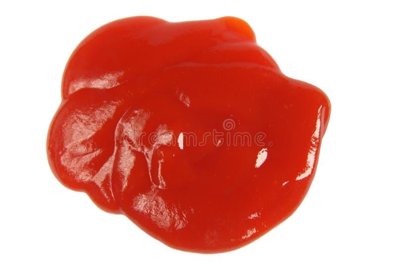 Molho da ketchup de tomate. imagens de stock royalty free