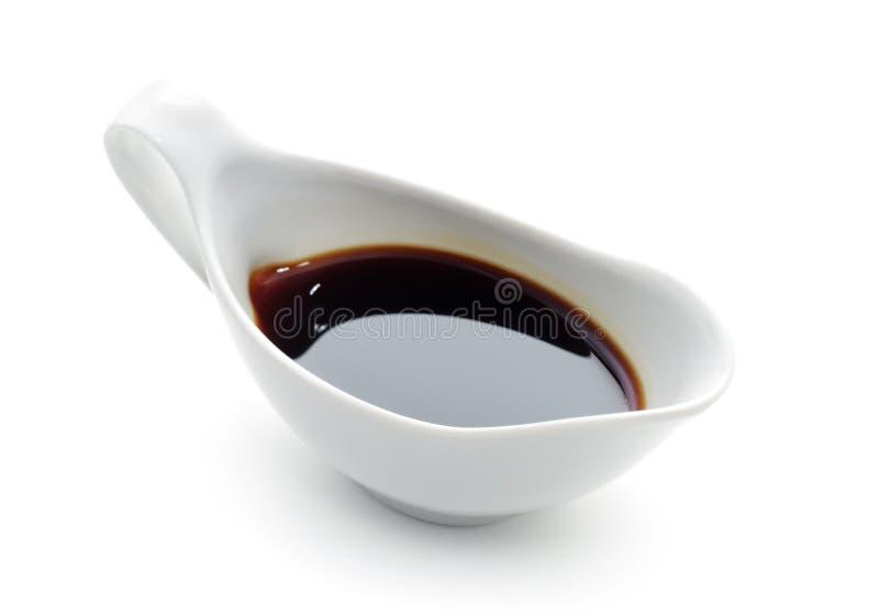Molho da soja imagem de stock