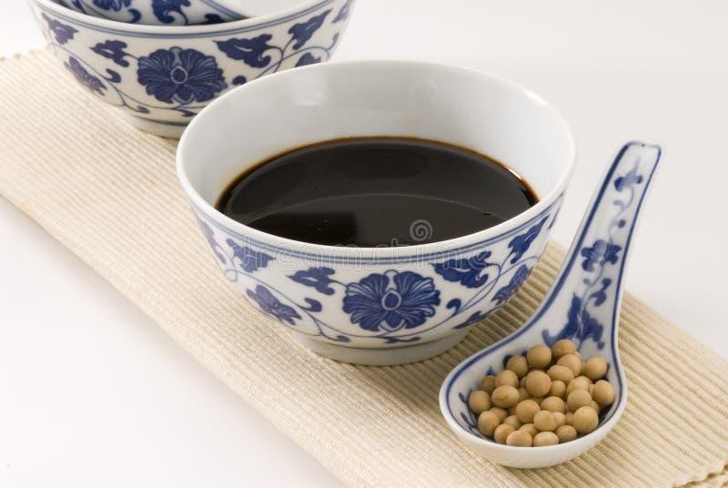 Molho de soja. foto de stock