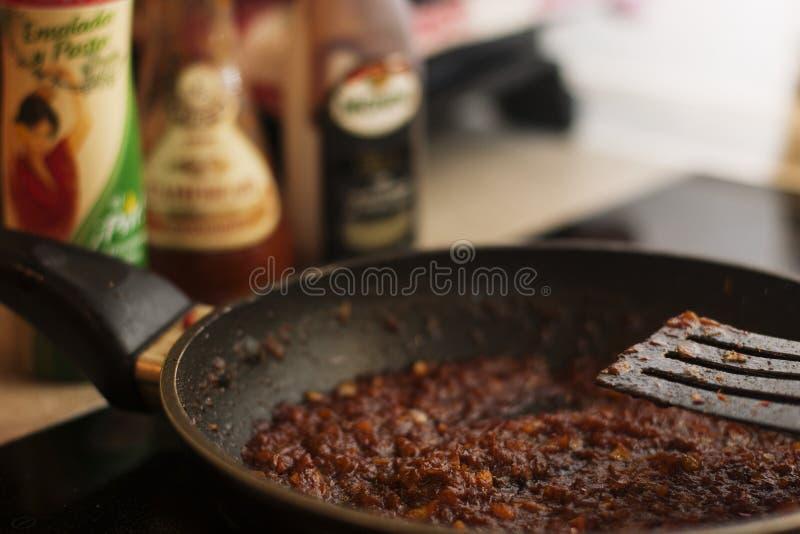 Molho do BBQ fotos de stock