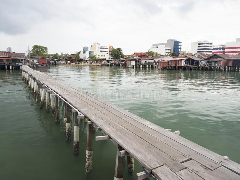 Moli del clan, Penang immagini stock