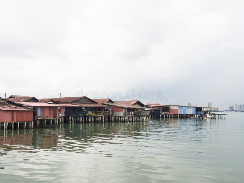 Moli del clan, Penang fotografia stock libera da diritti