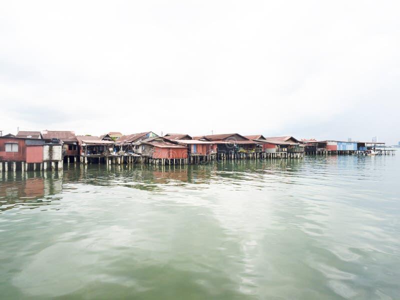 Moli del clan, Penang immagini stock libere da diritti