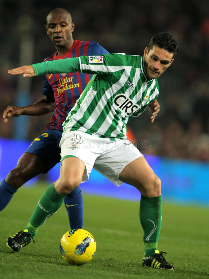 Free Molina Vies With Abidal Stock Images - 22879294