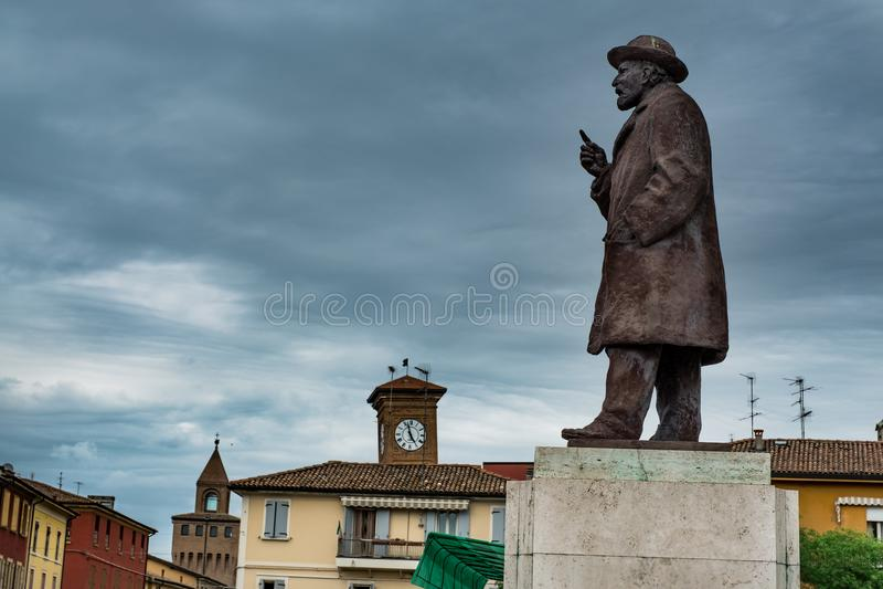 Molinella, Αιμιλία-Ρωμανία, Ιταλία στοκ φωτογραφία με δικαίωμα ελεύθερης χρήσης