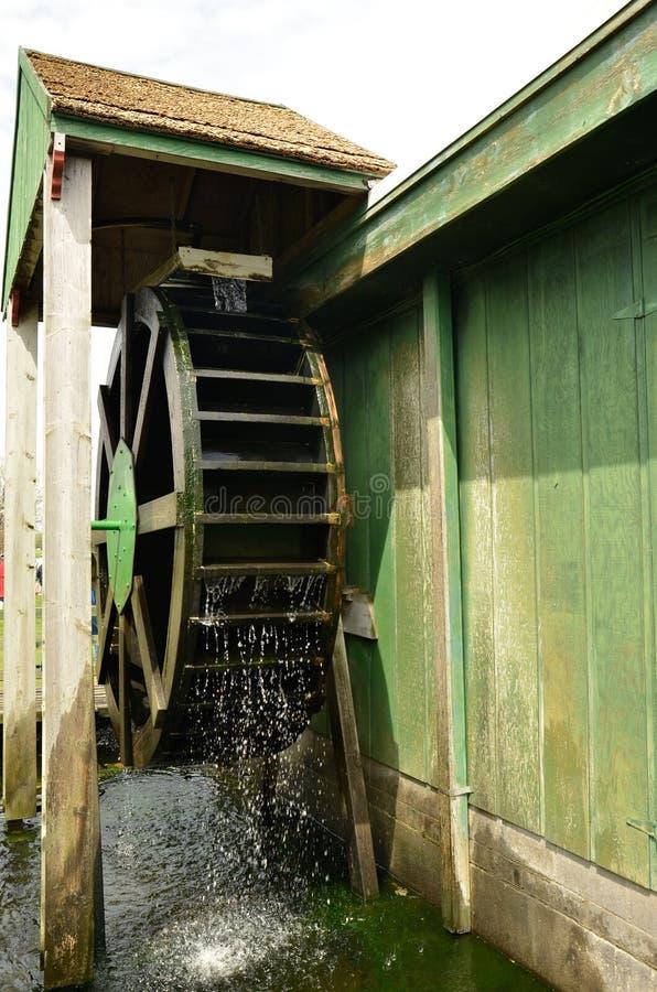 Molino de agua - Holanda, Michigan fotos de archivo