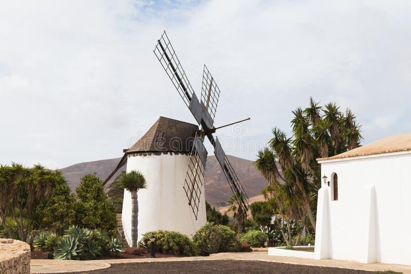 Molino de Antigua, Fuerteventura. Molino de Antigua in the center of Fuerteventura royalty free stock photo