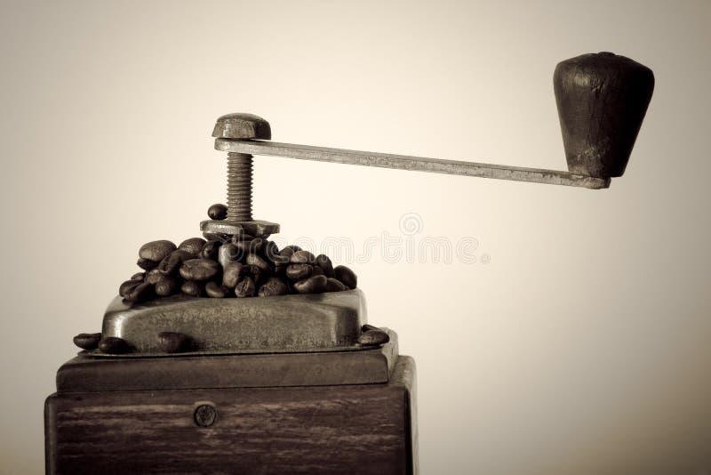 Molino de café imagenes de archivo