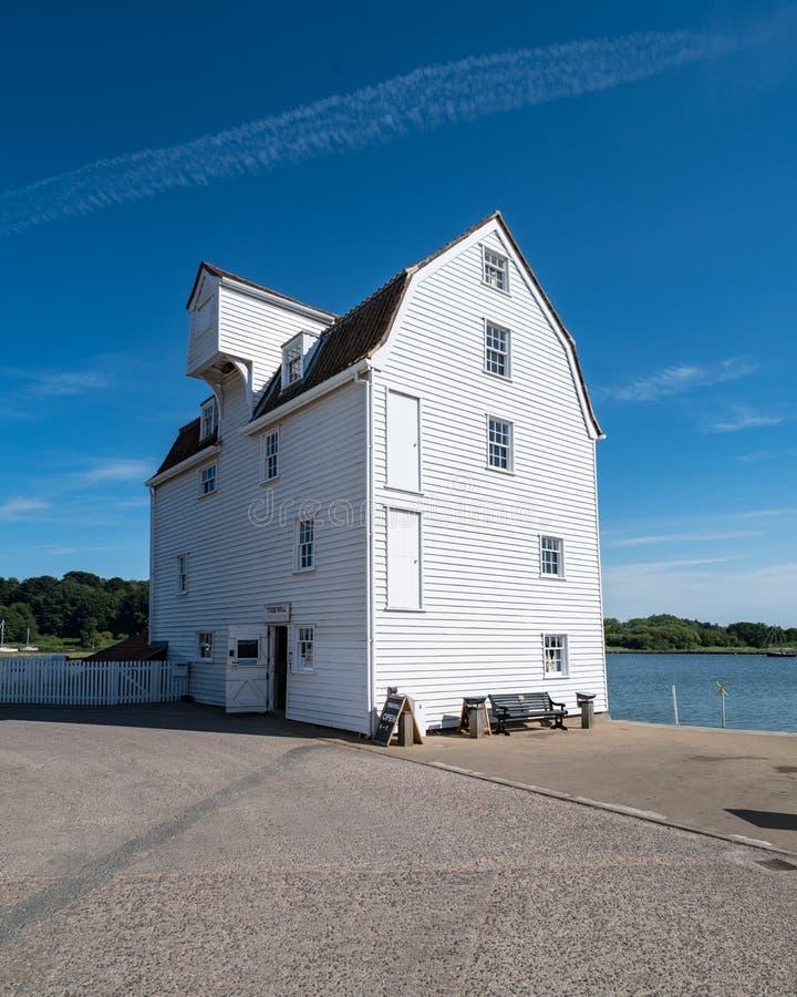 Molino de la marea de Woodbridge fotografía de archivo libre de regalías