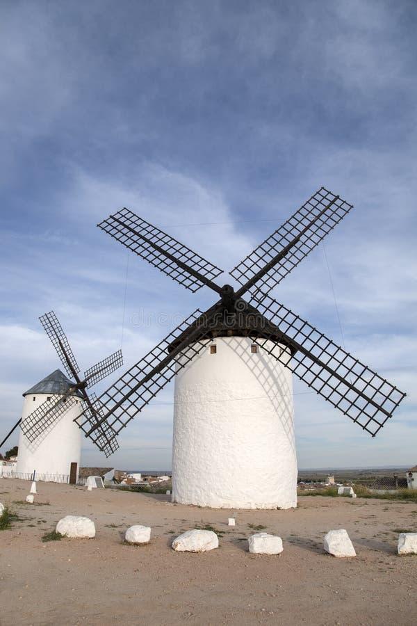 Molino de viento, Campo de Criptana foto de archivo libre de regalías