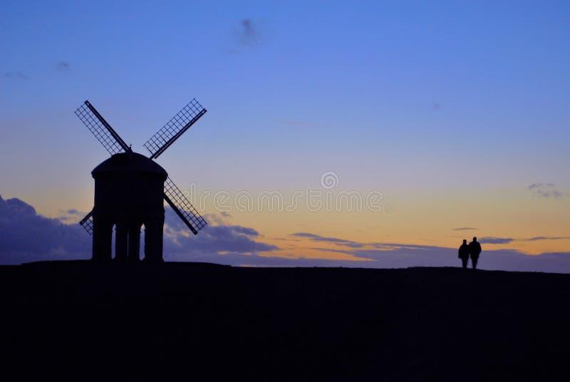 Molino de viento de Chesterton imágenes de archivo libres de regalías