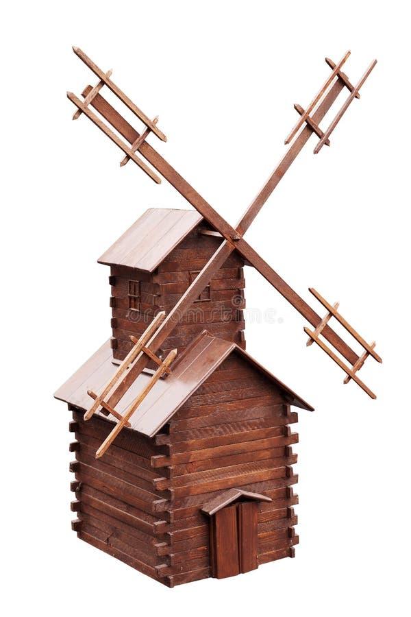 Molino de viento decorativo para el jardín fotografía de archivo