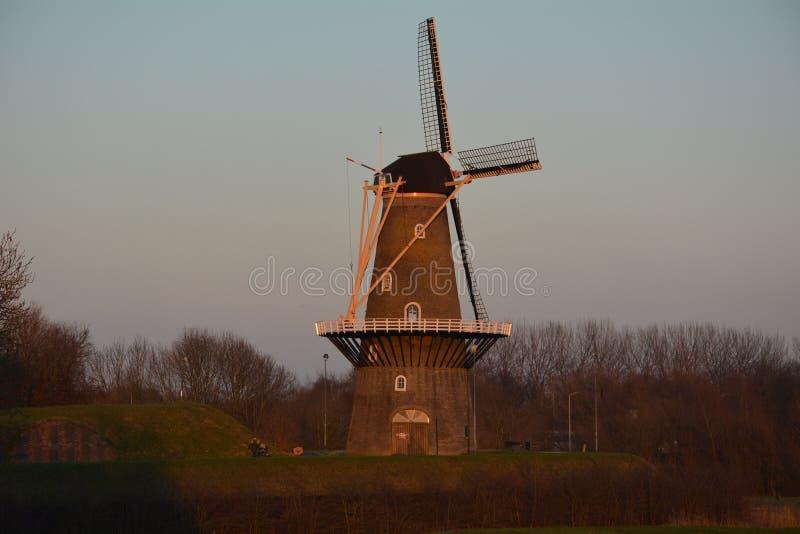 Molino de viento Gorinchem fotografía de archivo libre de regalías