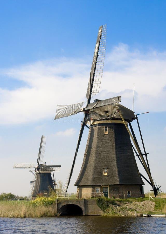Molino de viento Holanda fotos de archivo