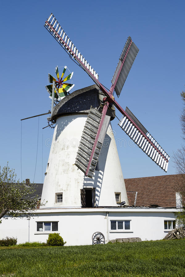 Molino de viento Minden, Alemania de Stemmer fotografía de archivo