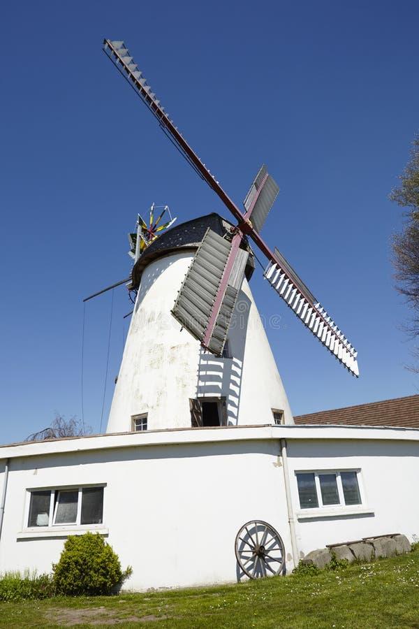 Molino de viento Minden, Alemania de Stemmer imagen de archivo