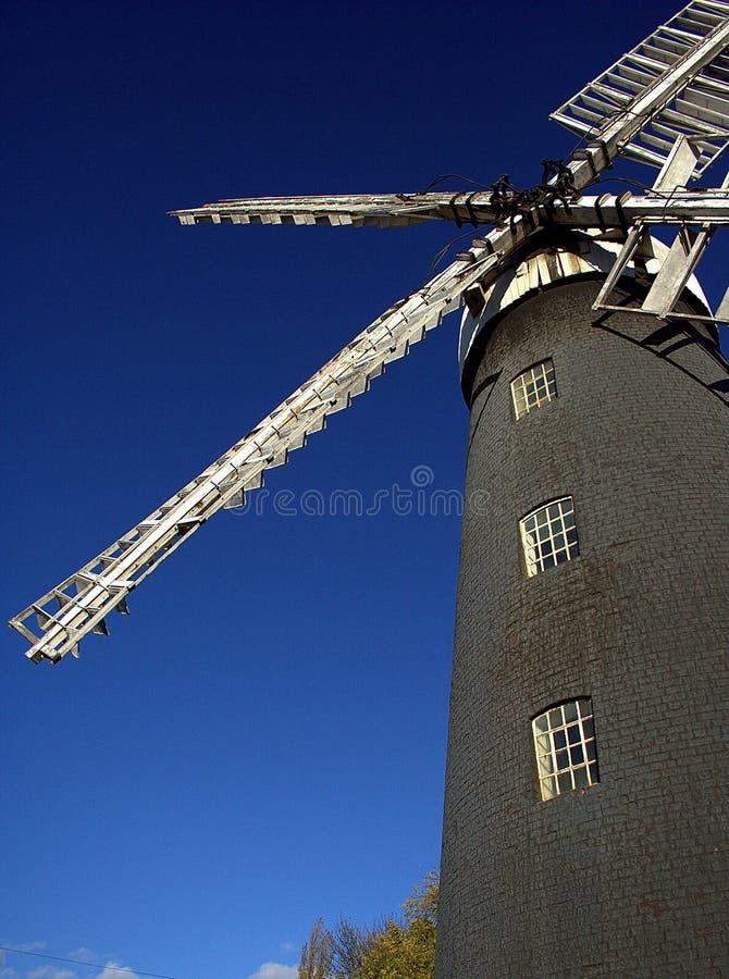 Molino de viento tradicional foto de archivo libre de regalías