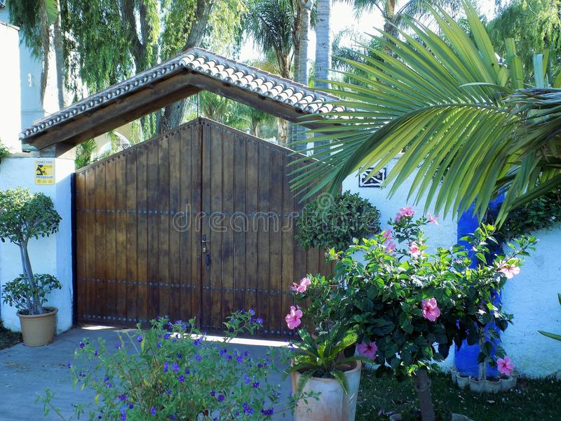 Molino del Batan.Torremolinos. Molino del Batan -Torremolinos royalty free stock image