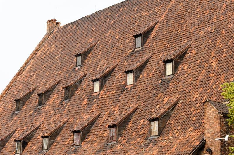 Molino magnífico de Gdansk foto de archivo libre de regalías