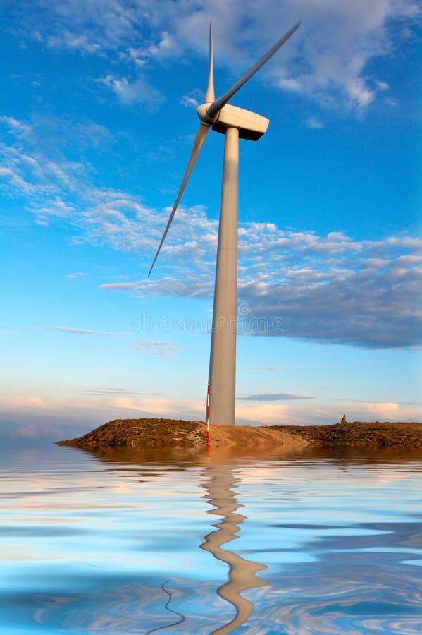 Molinoes de viento imágenes de archivo libres de regalías