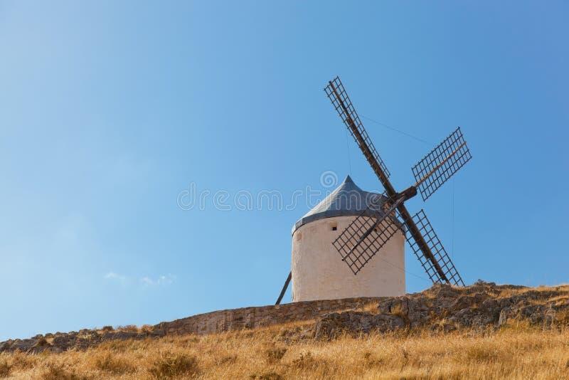 Molinoes de viento de Consuegra foto de archivo
